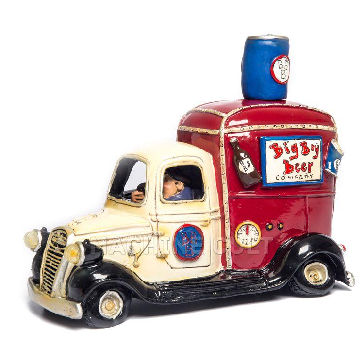 caminhão de cerveja em miniatura