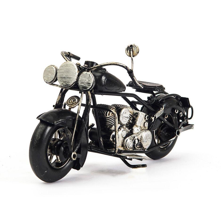 Miniatura Moto Retrô