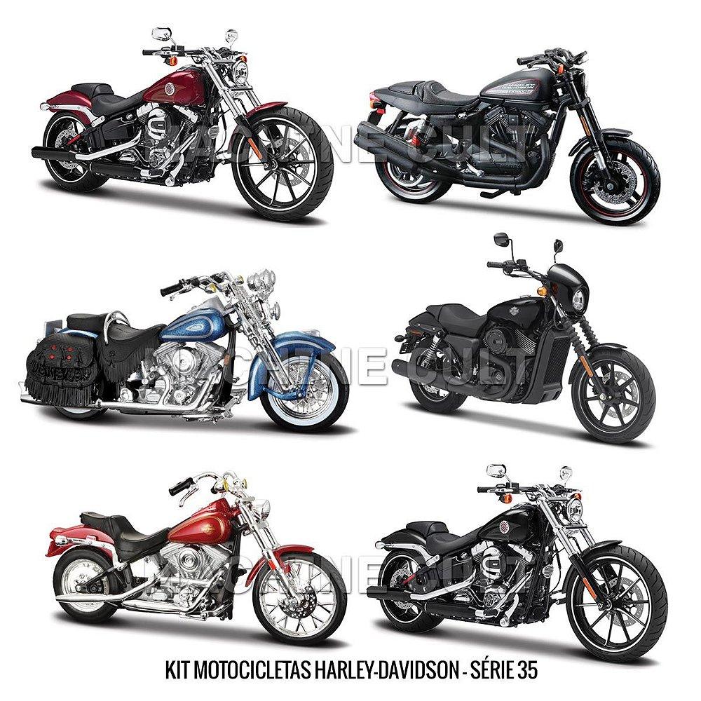 kit de miniaturas Harley-Davidson