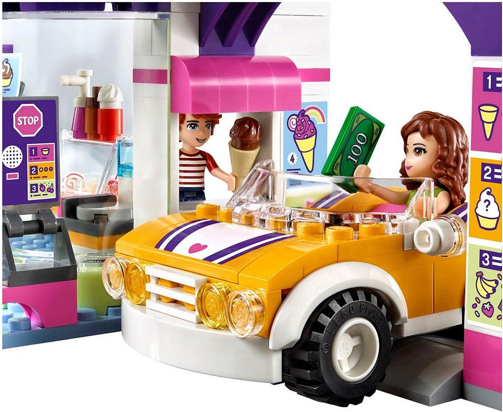 Lego Friends 41320 Heartlake Frozen Yogurt Shop - The ...