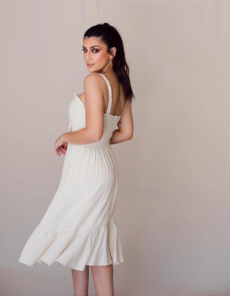 Vestido Yasmin Nude - Le Showroom