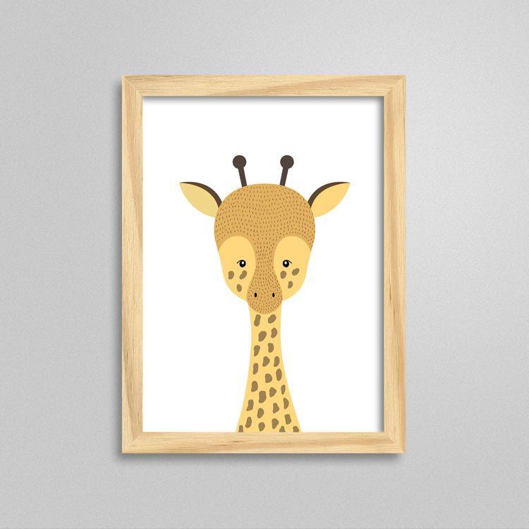 Quadro Girafa