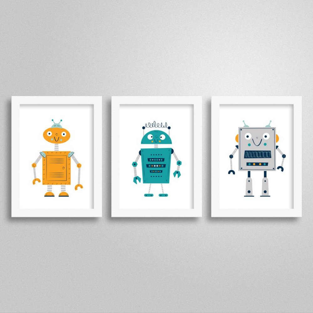 Kit de Quadrinhos Robô M1