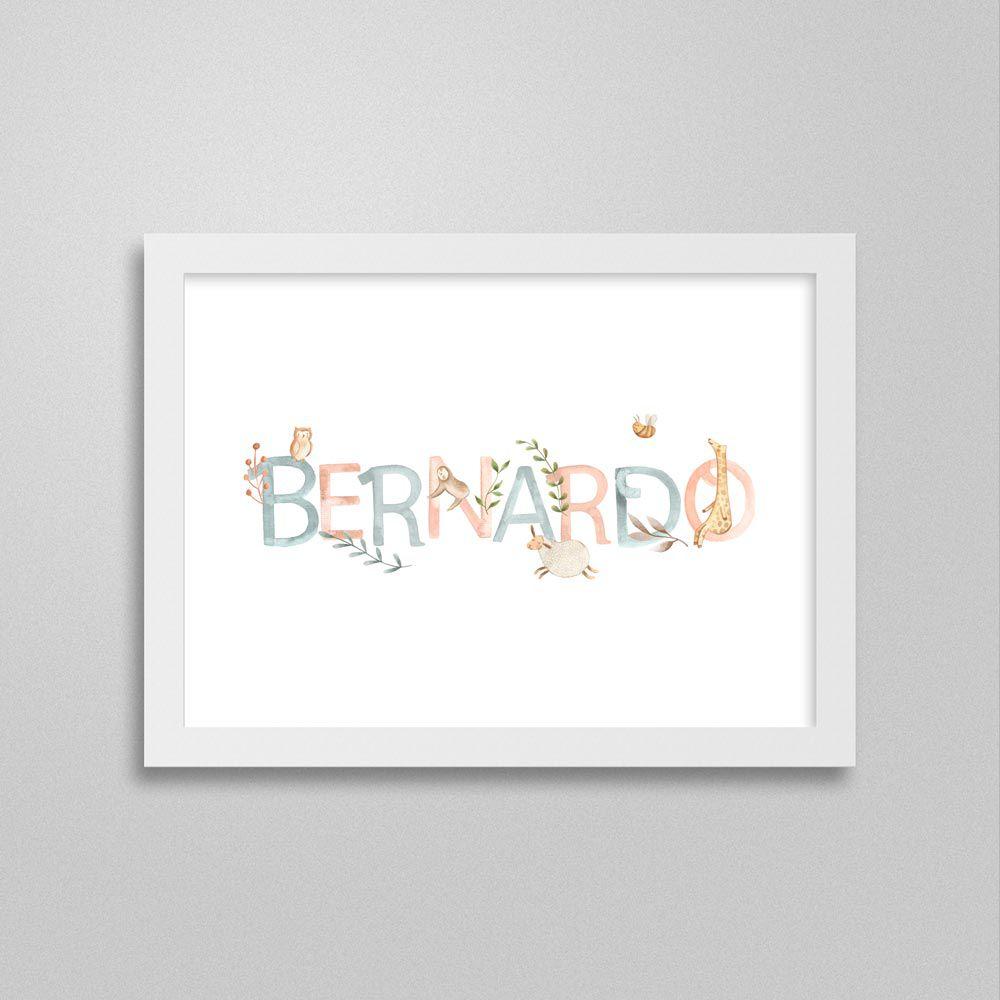Quadro nome Bernardo