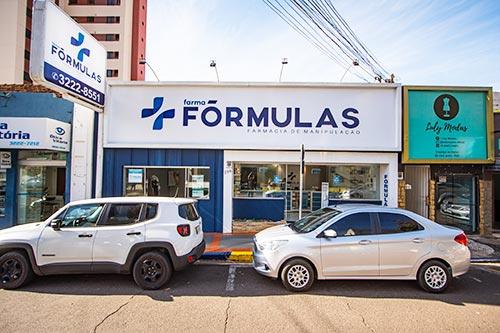fachada da Farma Fórmulas