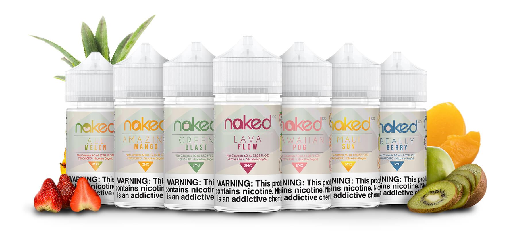 naked 100 juice fruits