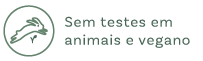 Sem testes em animais e vegano