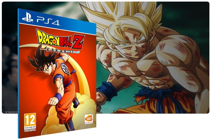 Banner do game DRAGON BALL Z: KAKAROT para PS4
