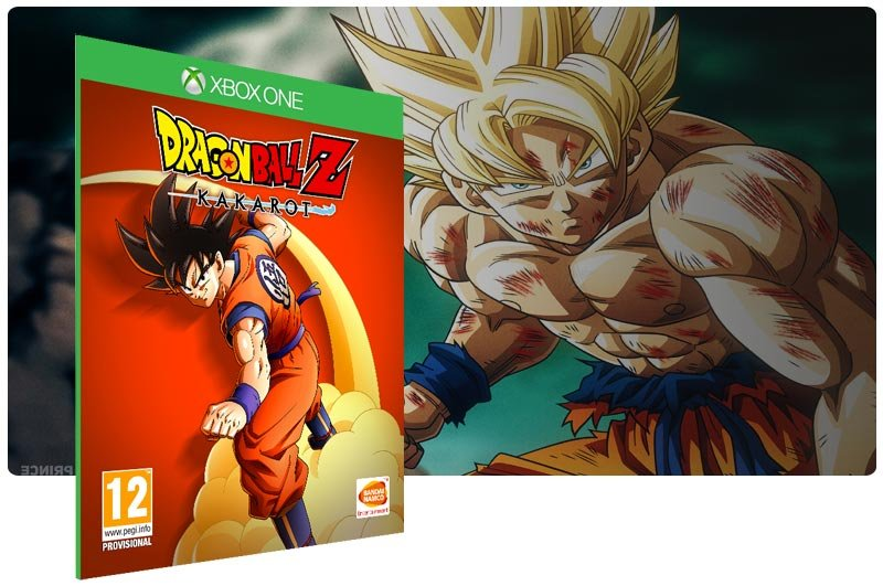 Banner do game DRAGON BALL Z: KAKAROT em mídia digital para Xbox One