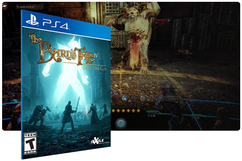 Banner do game The Bard's Tale IV: Director's Cut para PS4