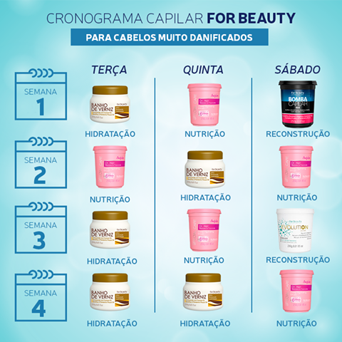 Cronograma Capilar For Beauty