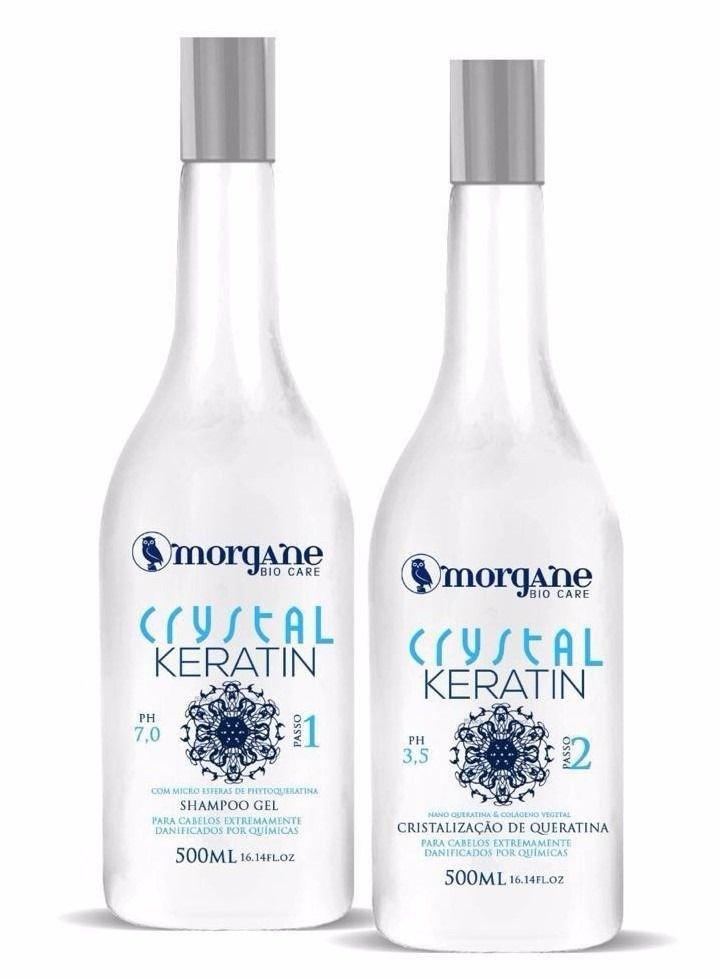 Morgane Cristal Keratin Cristalização de Queratina