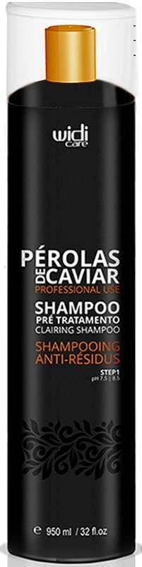 Shampoo Pre Tratamento Anti Residuos Perolas de Caviar Widi Care