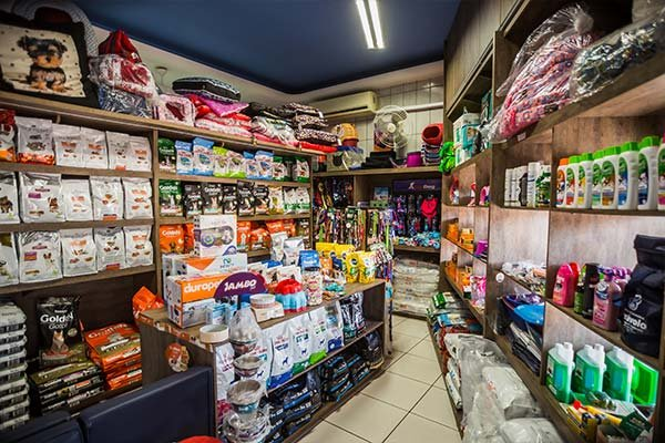 produtos e acessórios pet