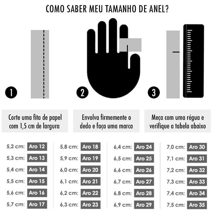 Tabela Medidas Anel