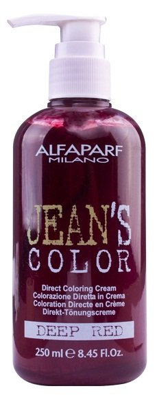 Tonalizante Creme Jean's Color Deep Red Alfaparf - 250ml