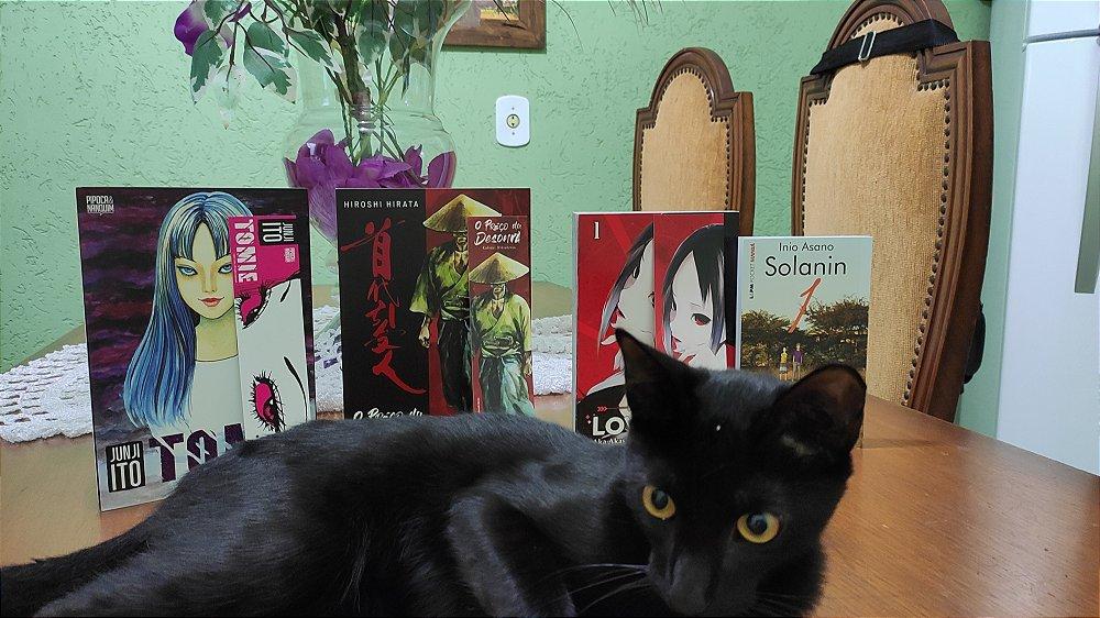 Salem posando para uma fotinha.