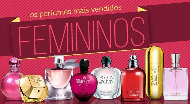 Perfumes Dia das Mães