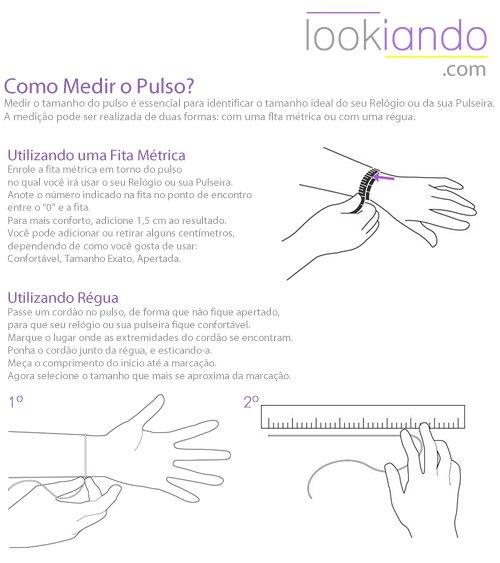 Tabela de Medidas lookiando.com