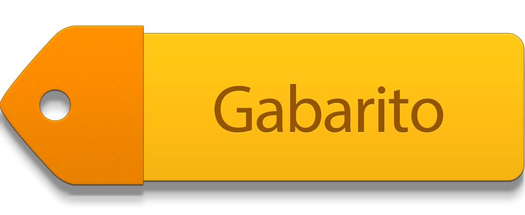 Botão Gabarito