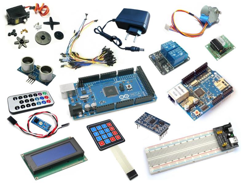 Kit arduino master automação residencial newhardware