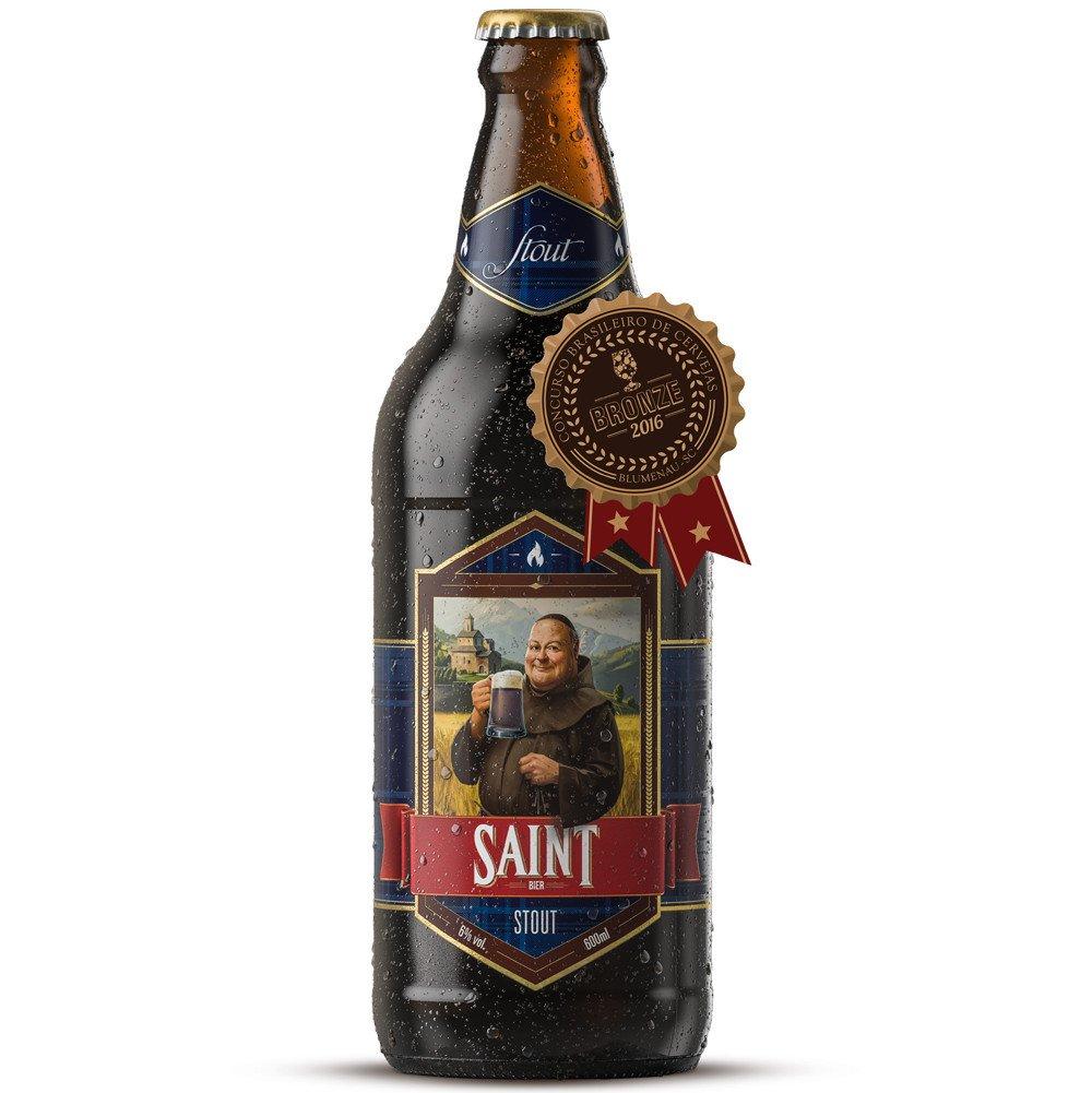 Cerveja Artesanal Saint Bier Stout 600ml