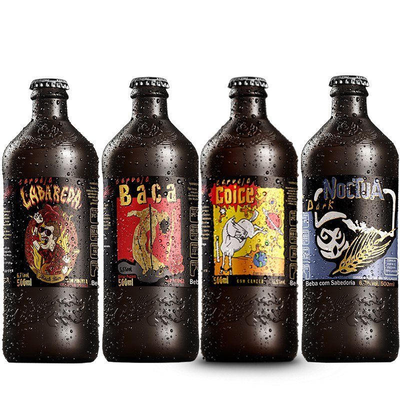 Kit Cerveja Artesanal Coruja 4 Cervejas