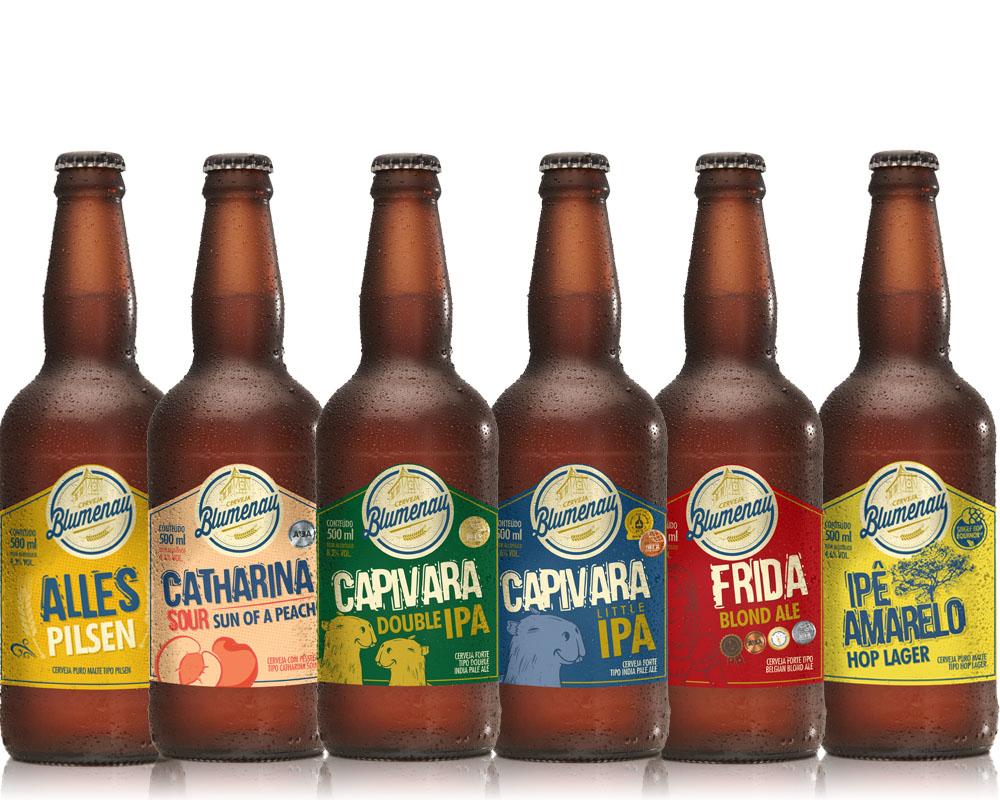 Kit Cerveja Blumenau 6 Cervejas