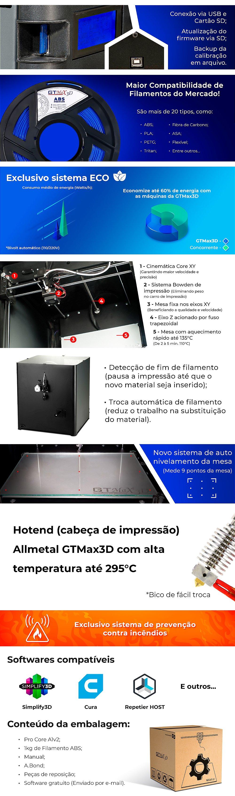 filamentos 3d,