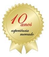 Mais de 10 anos de experiência no mercado