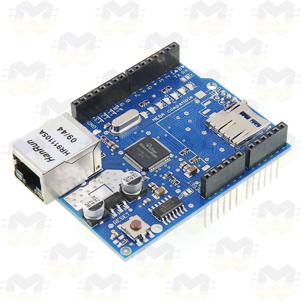 Ethernet Shield W5100 para Automação com Arduino Uno Mega 2560 R3 Internet Rede