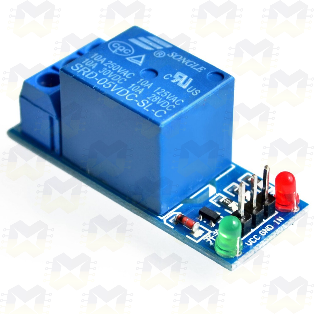 Módulo Relé 5V 1 Canal Arduino NodeMCU ESP8266 PIC Automacao Residencial Lampada