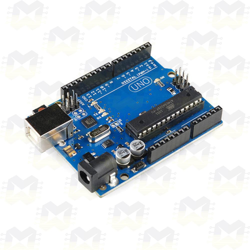 Arduino Uno R3 com Cabo USB A/B Projetos Robótica Automação Residencial