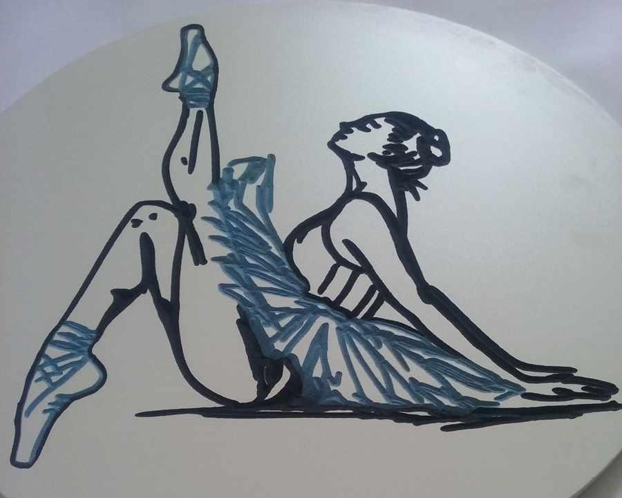 quadro-bailarina