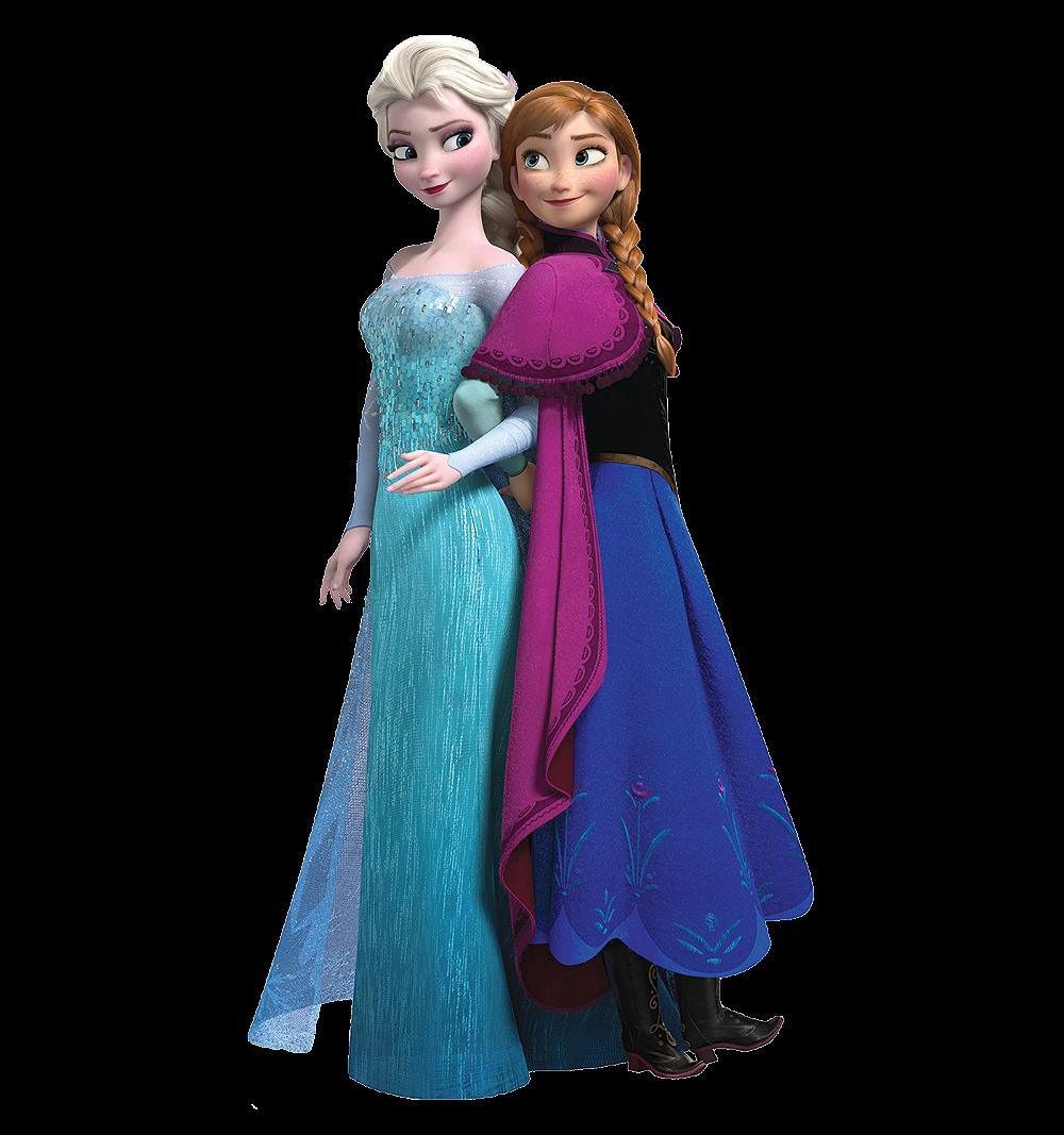 Vestido Ana & Elza Frozen Festa Infantil Tema Princesas.