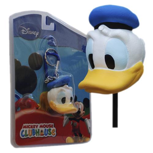 Chaveiro Mosquetão Pato Donald