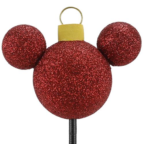 enfeite para antena de carros mickey bola arvore de natal