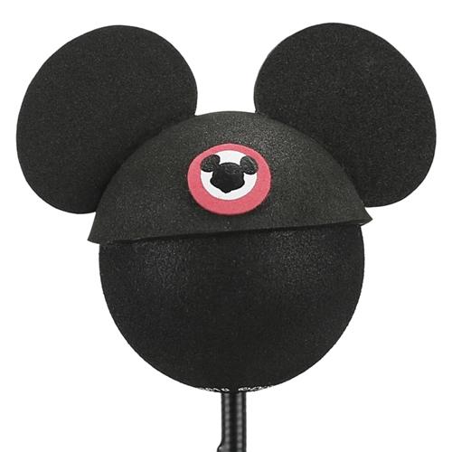 enfeite para antena de carros mickey de chapéu disney