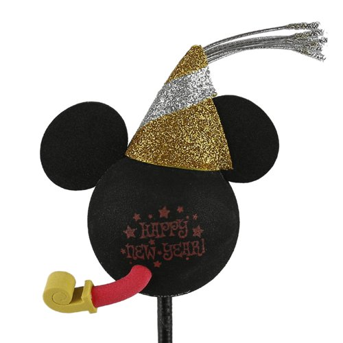 enfeite para antena de carros mickey happy new year