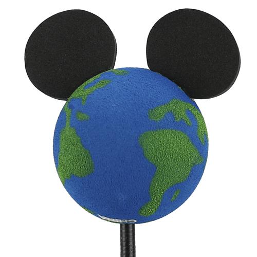 enfeite para antena de carros mickey planeta terra disney