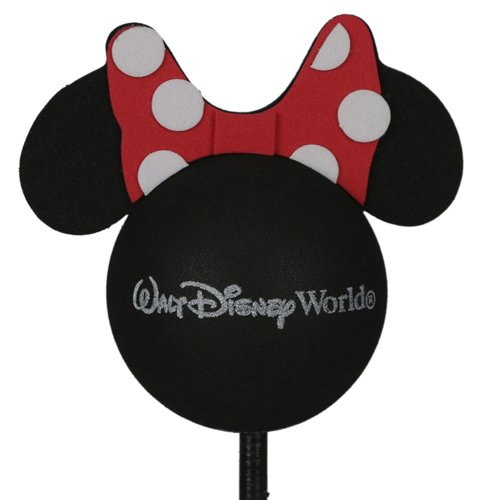 enfeite para antena de carros minnie walt disney world