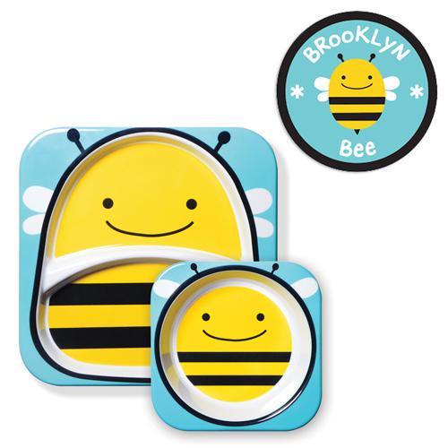 kit-de-pratos-skip-hop-zoo-abelha