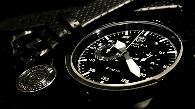 Relogio-masculino-preto-CT-Scuderia-Satuno-Touring-e-pulseira-de-couro-perfurado-preto-zoom1