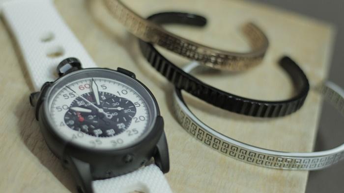 Pulseira de aço masculina estilo bracelete modelo King em PVD Preto