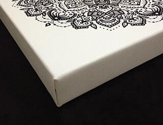 Impressão em tela de pintura