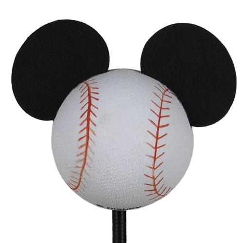 enfeite para antena de carros mickey bola de baseball