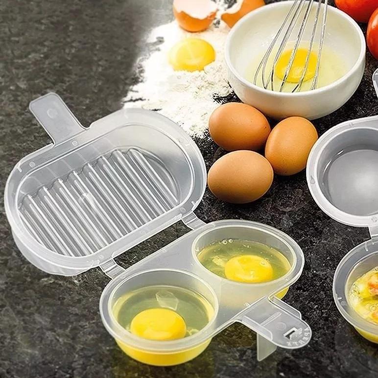 forma para ovos e omelete de microondas duas faces