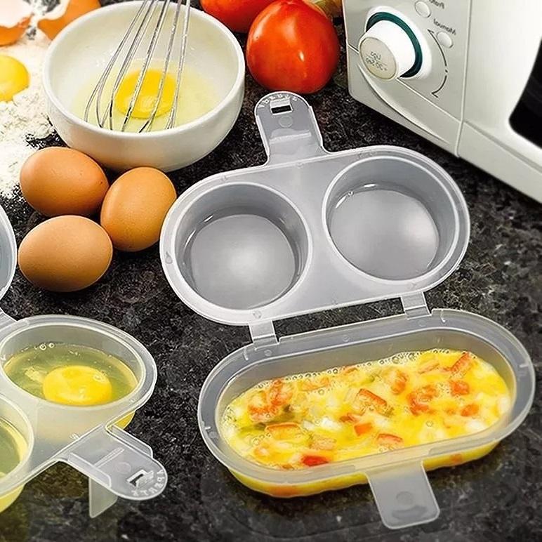 forma para fazer ovos e omelete no microondas sem oleo