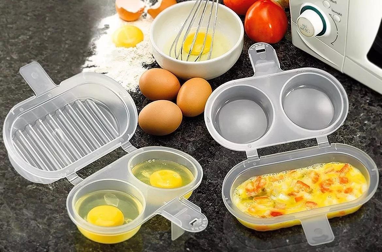 forma para omelete sem oleo no microondas