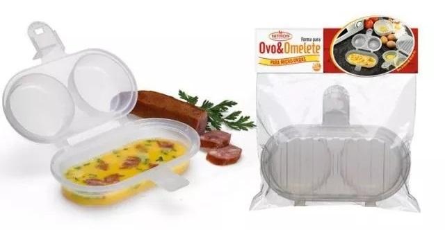 como fazer ovos no microondas